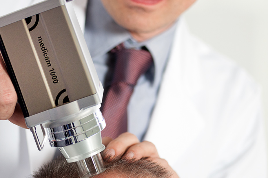 dermatoscopio digital